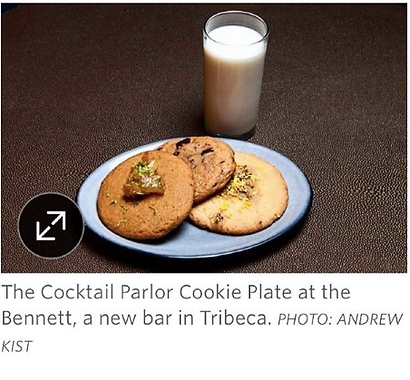 Cocktail Cookies, The Wall Street Journal
