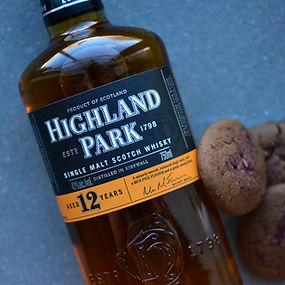 Highland Park 12 Year Rob Rose Cocktail Cookies