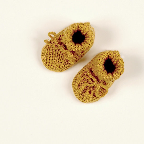 Chaussons Jean Ocre