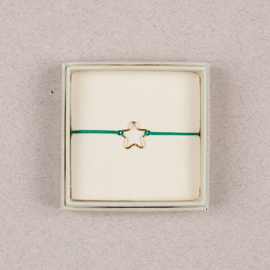 Bracelet Stella Vert