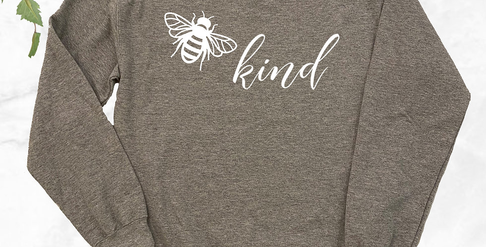 Bee Kind Crew Neck Sweater