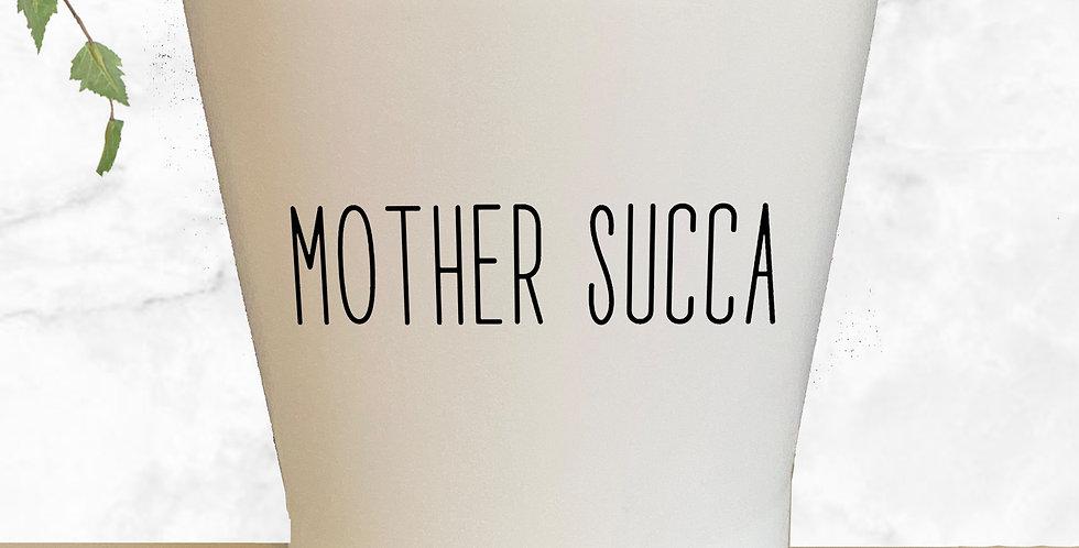 Mother Succa Succulent Pot