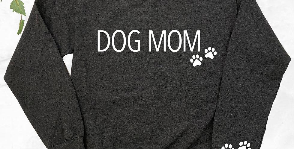 Dog Mom Crew Neck Sweater