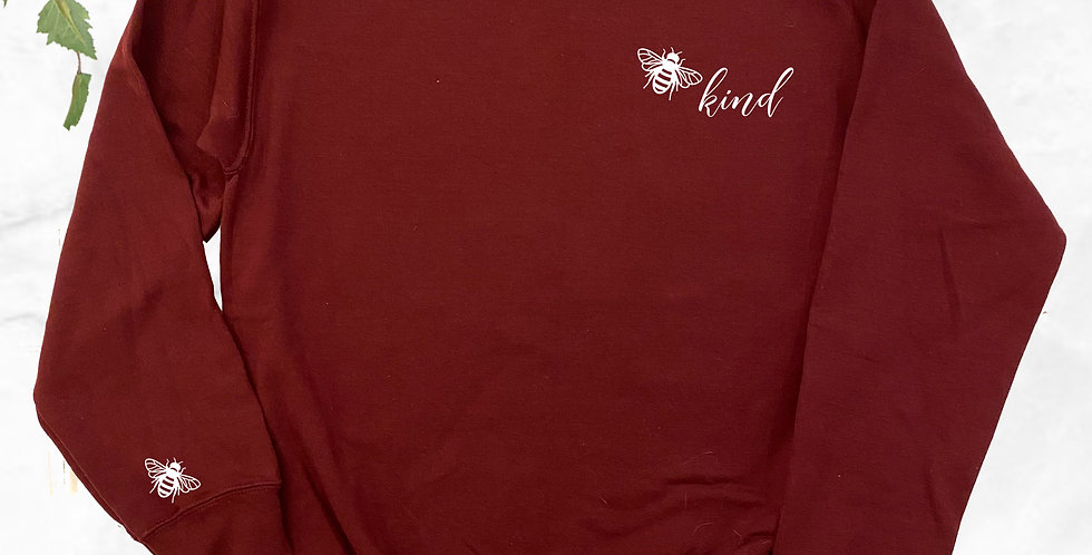 Bee Kind (Small) Crew Neck Sweater
