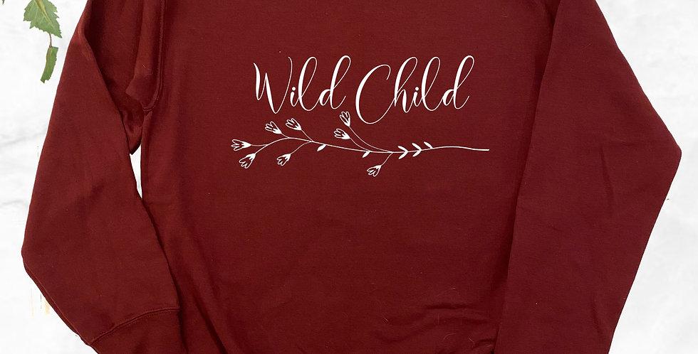 Wild Child Crew Neck Sweater