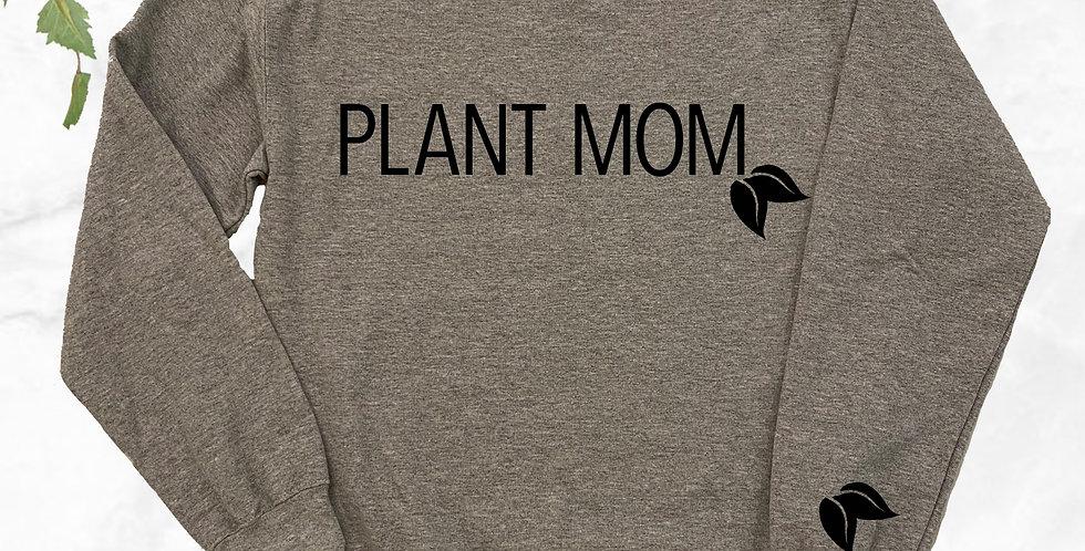 Plant Mom Crew Neck Sweater