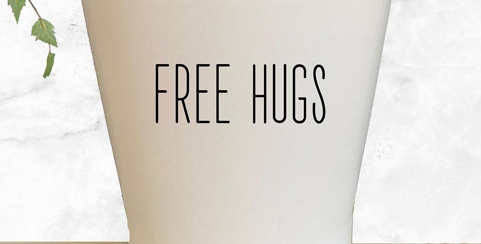 Free Hugs Succulent Pot