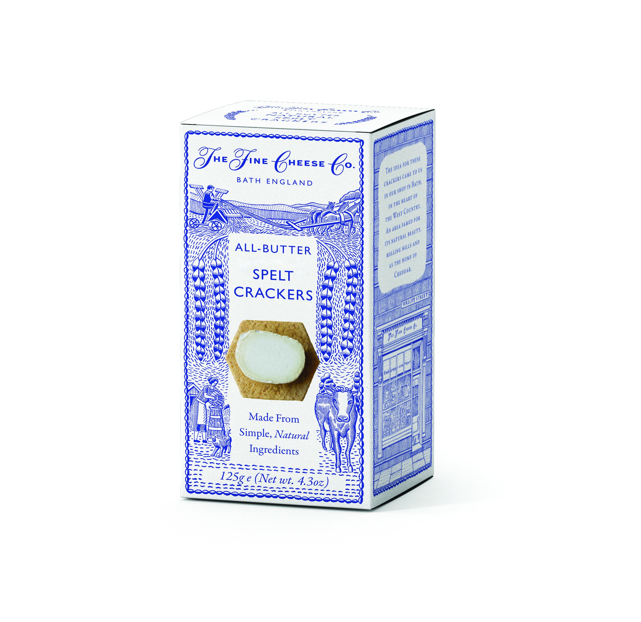 All-ButterNatural Spelt Crackers