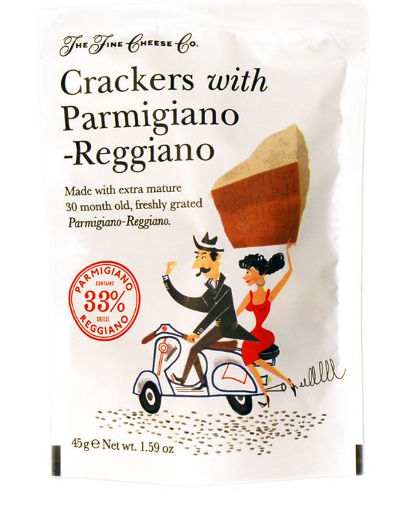 Crackers Parmesan