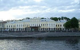 Фонтанный дом или Шереметевский дворец Санкт-Петербург