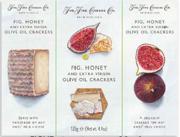 Crackers aux figues