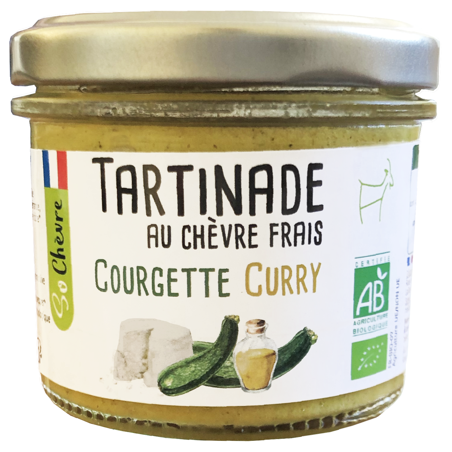 Tartinade courgette curry