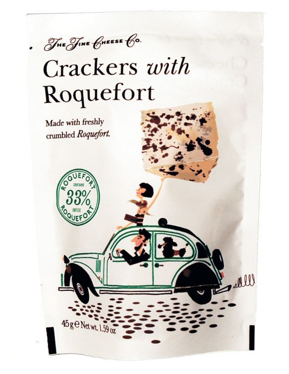 Crackers au roquefort