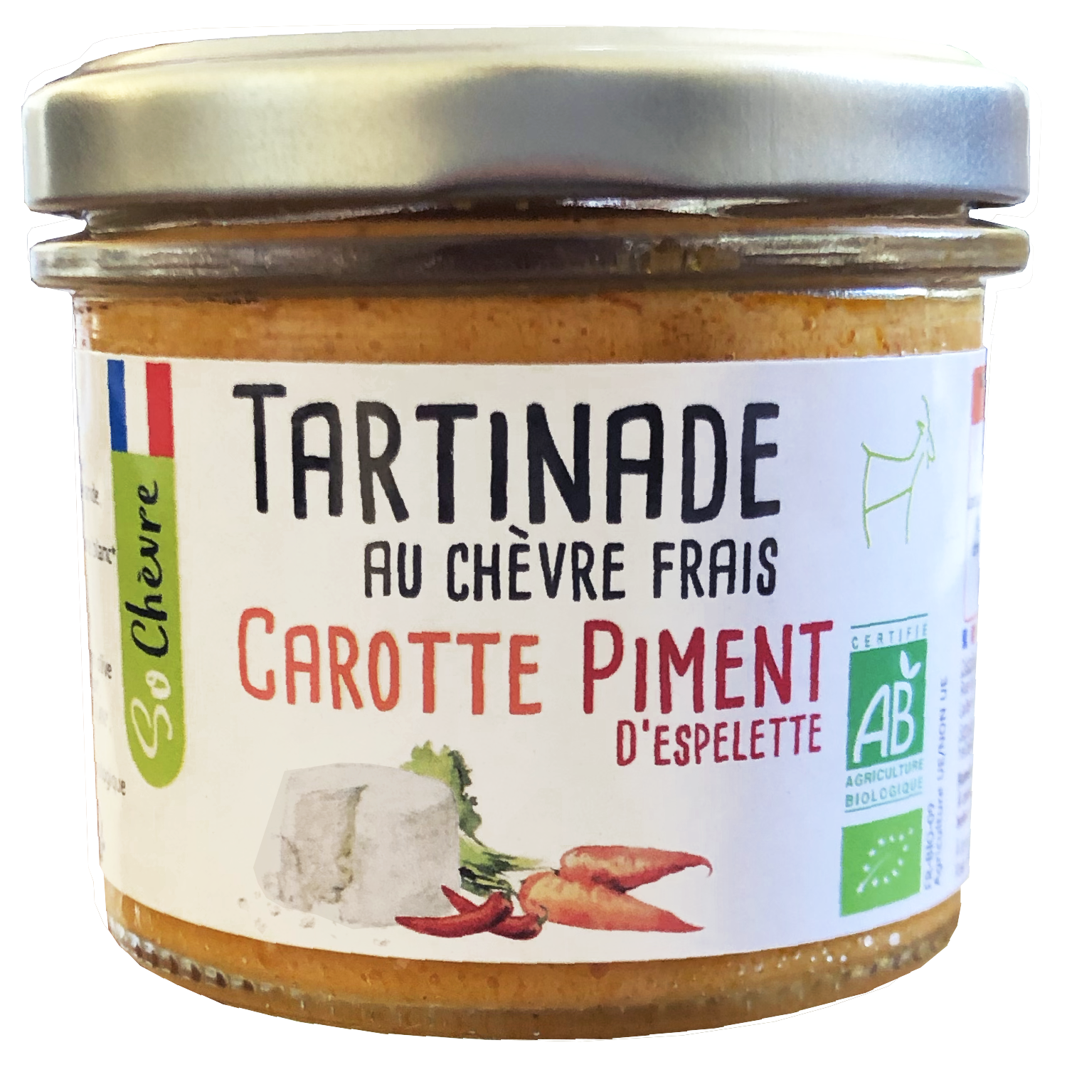 Tartinade carotte piment