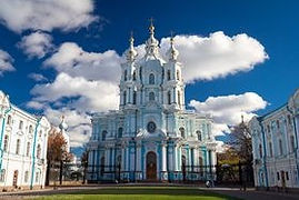 Смольный собор Санкт-Петербург