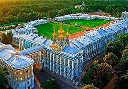 Екатерининский дворец Санкт-Петербург, город Пушкин, дворец Екатерины, Царское Село