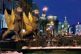 Банковский мост Санкт-Петербург