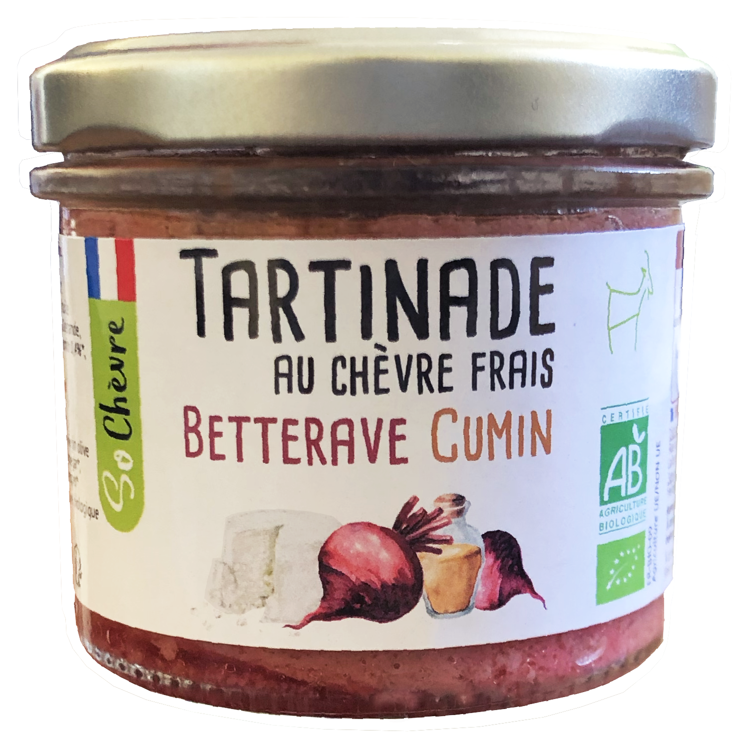 Tartinade Betterave Cumin