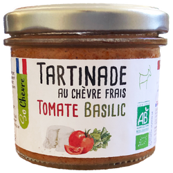 Tartinade tomate basilic