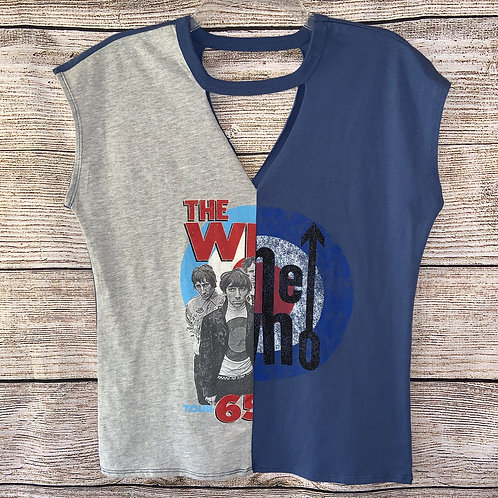 The Who Sleeveless Graphic Tee