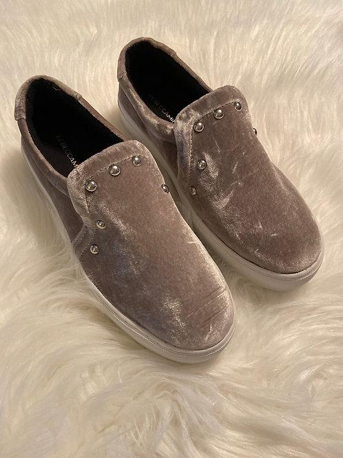 Rebecca Minkoff Noelle Velvet Platform Sneaker