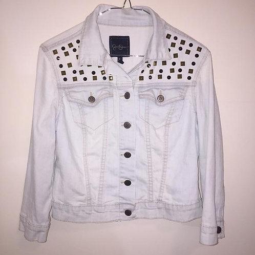 Jessica Simpson Miro Studded Jeans Jacket
