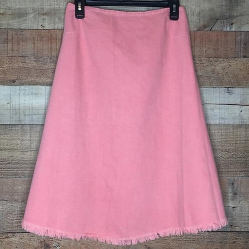Asos Denim   Coral Denim A-Line Skirt