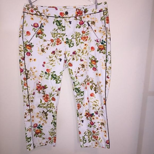 Disney |Alice Through The Looking Glass Floral Cropped Pants