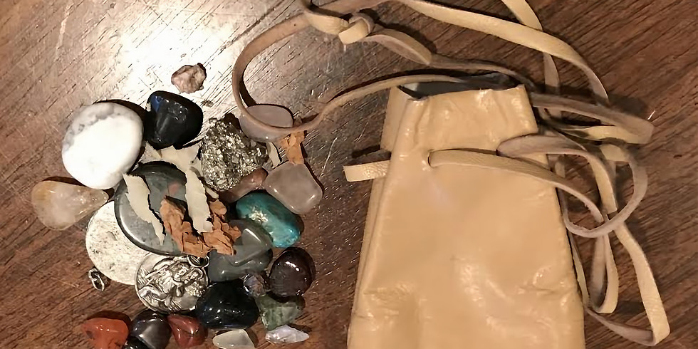 Create your own Shamanic Medicine Pouch!