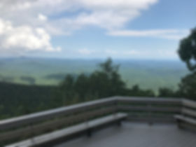Shaman Retreat Lookout patio