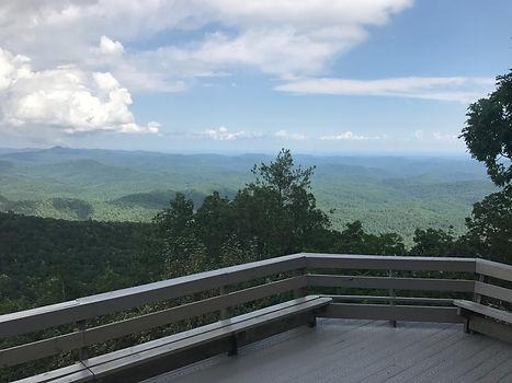 Shaman Retreat Lookout patio