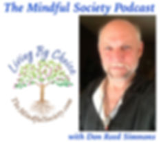 The Mindful Society w_DRS Podcast image.