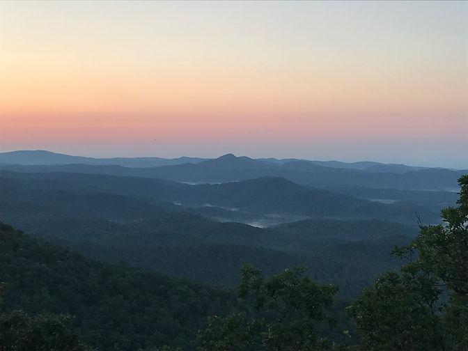 Shaman Retreat Morning Mountain Vista