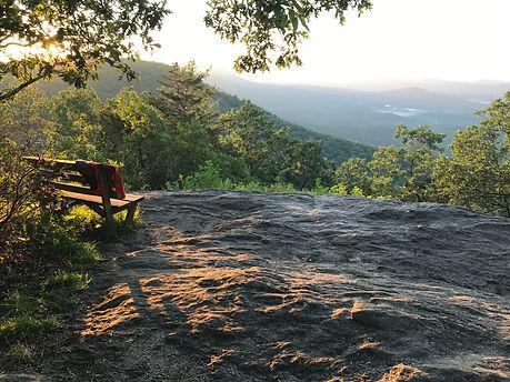 Shaman Retreat Meditatin Rock for contemplation