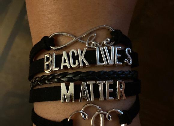 Black Lives Matter Love Bracelet