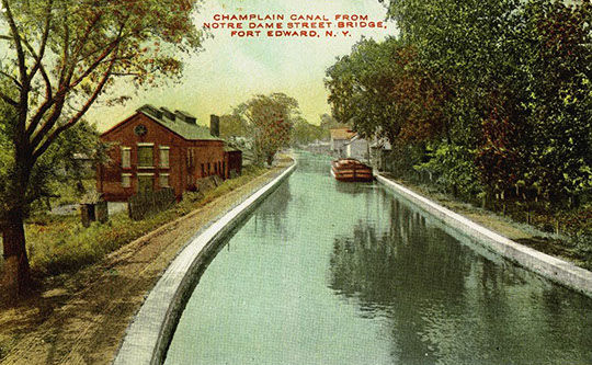 Champlain Canal Postcard