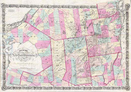 Map: New York Wilderness