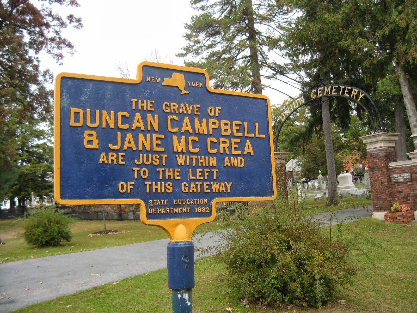 DuncanCampbellHistoricMarker