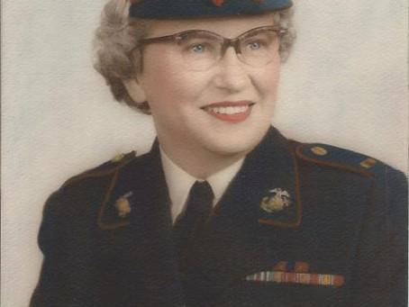 Ruth L. Wood:   Proud to be a U.S. Marine