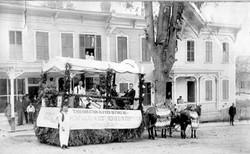 Adkins & Scotts float earlly 1890s