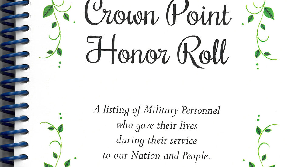 Crown Point Honor Roll Book