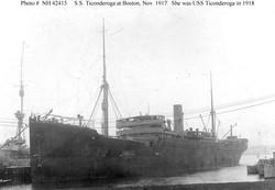 USS_Ticonderoga_1918