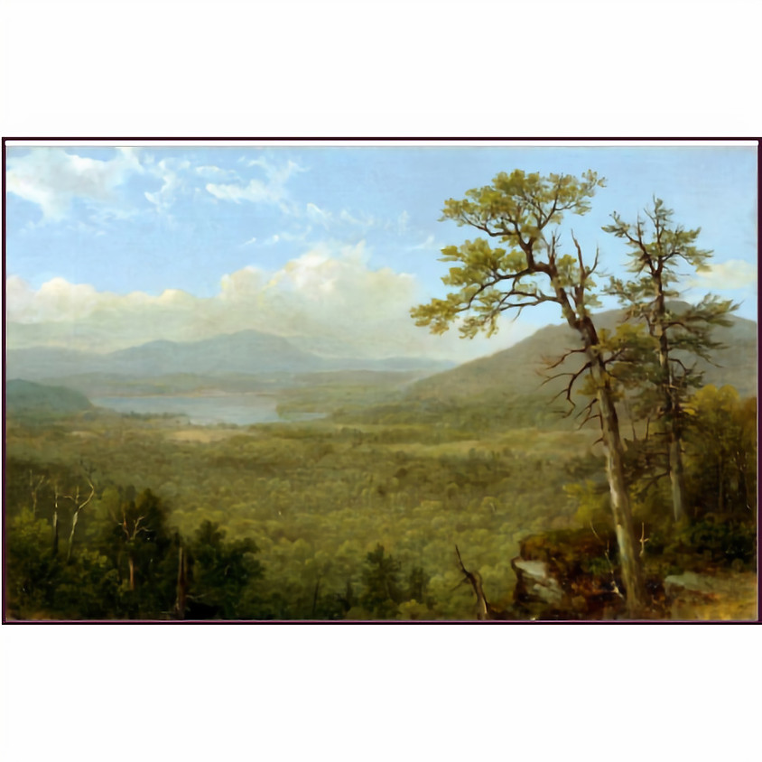 """Program:  """"Painting the Forever Wild—Landscape Painters of the Adirondacks"""""""