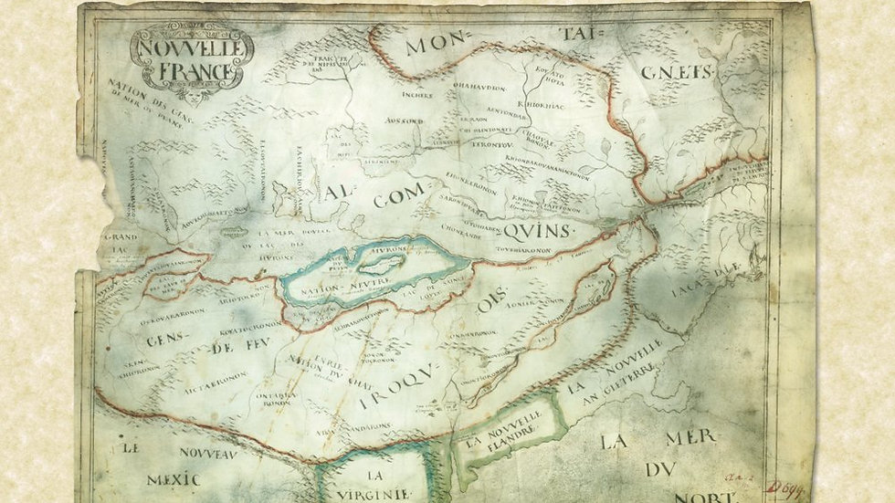 Adirondack: Of Indians and Mountains, 1535-1838