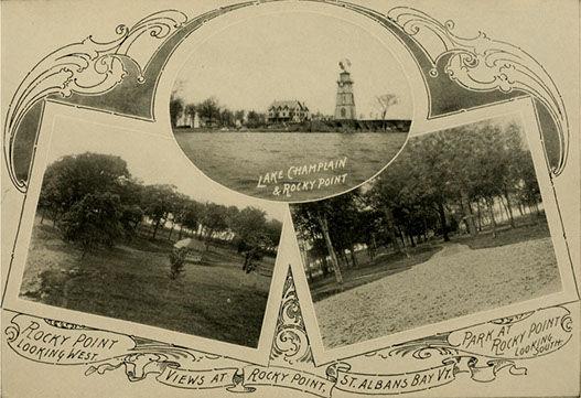 Rocky Point Old Postcard