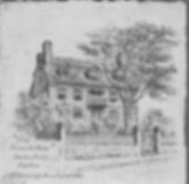 Boston Hancock House Plate