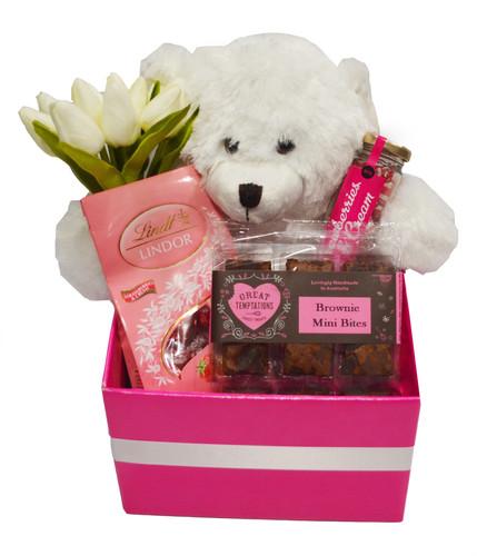 teddy hamper,teddy and chocolates hamper,gift hamper,hampers perth,hamper delivered ...