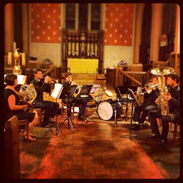 Fenway Quintet Rehearsal