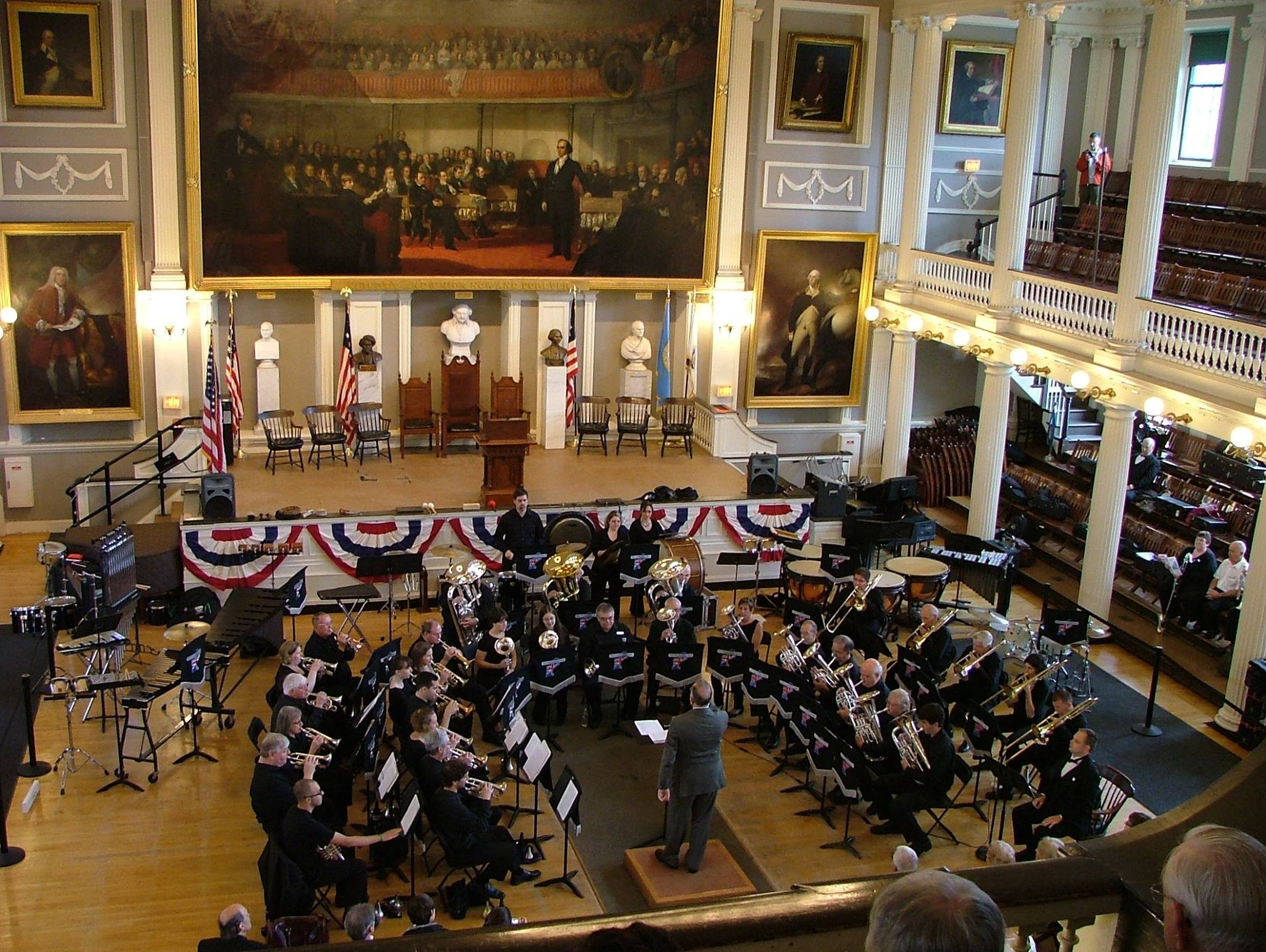 NEBB at Faneuil Hall