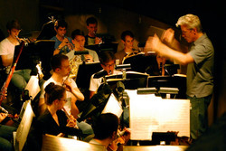 Ohio Light Opera orchestra rehearsal